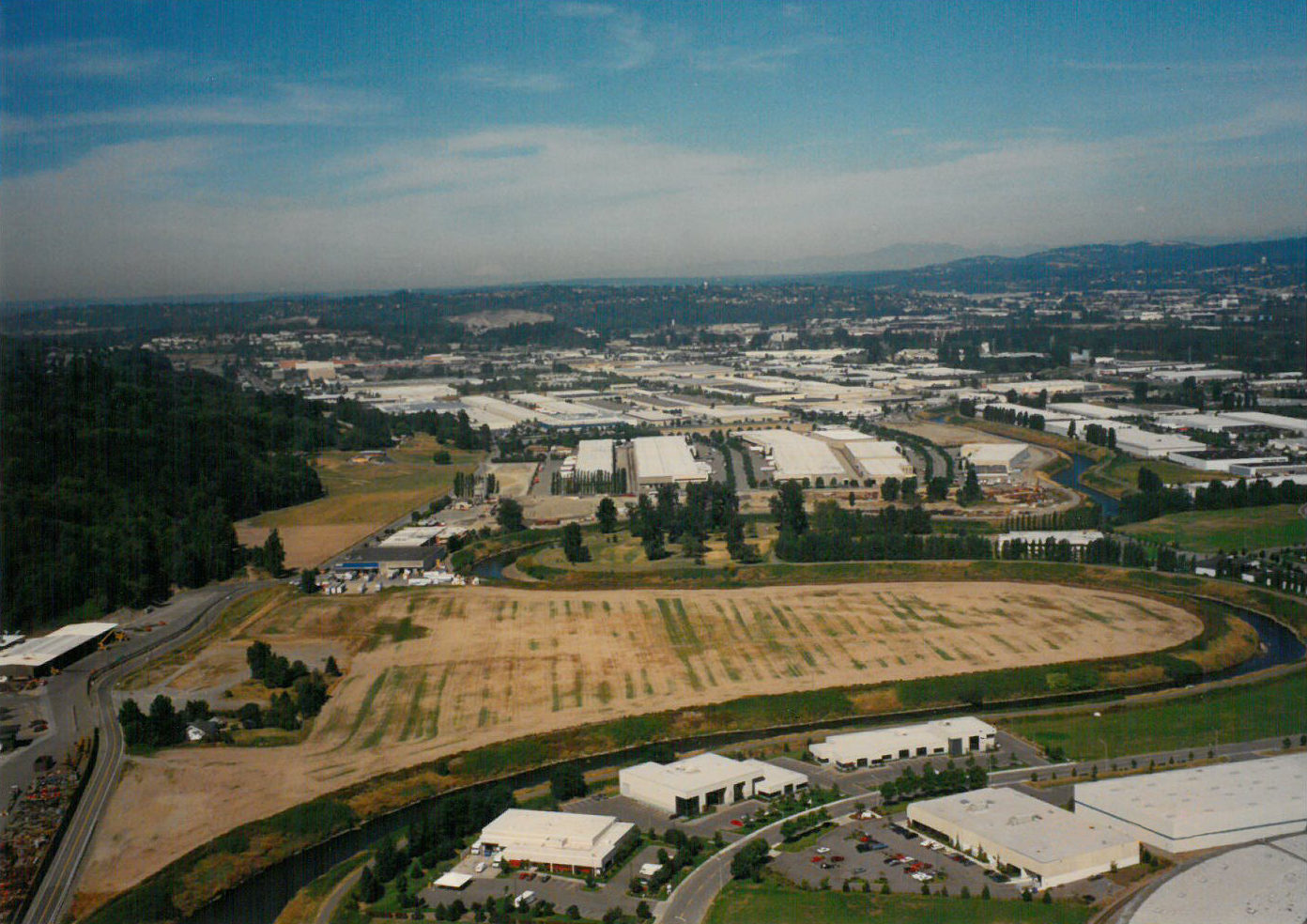 1993 Horseshoe aerial view